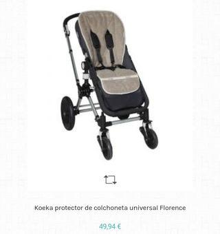 Colchoneta rizo (toalla) silla - carro bebé