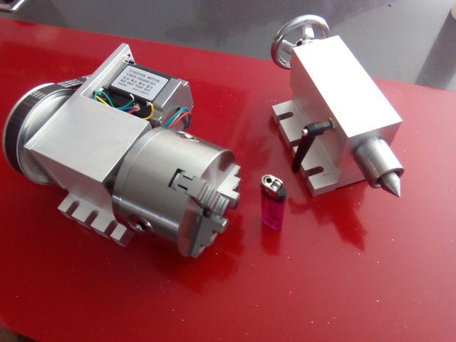 Cuarto eje rotatorio para CNC o Laser de segunda mano por 320 € en ...