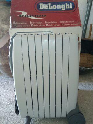 Radiador calefacción electrico