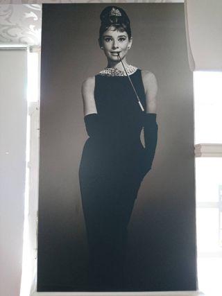 Cuadro Audry Hepburn