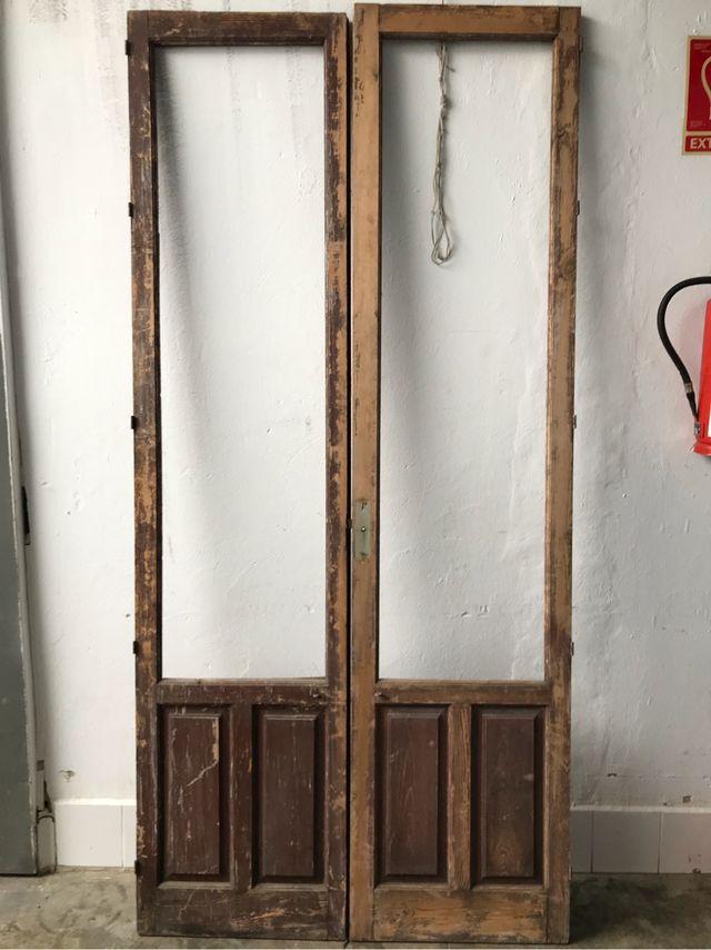 Puerta antigua madera de segunda mano por 60 en mairena for Puertas de paso segunda mano