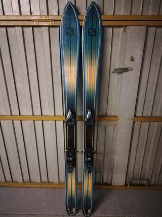 esquís Salomón bbr 9 y botas lange