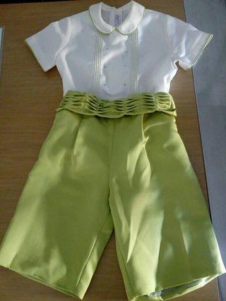 traje niño de paje para ceremonia 4/5 años