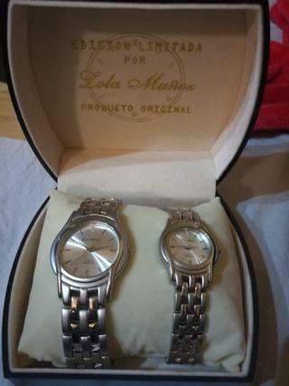 Relojes lola muñoz edicion limitada