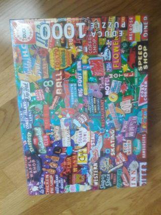 puzzle nuevo precintado 1000 piezas
