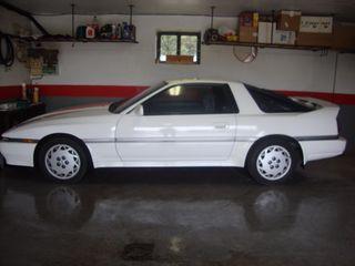 Toyota supra 1992 coche clásico
