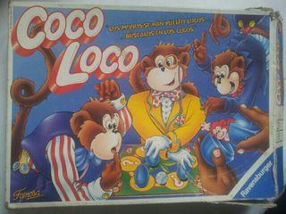 Juego de mesa coco loco famosa 1994 vendo piezas