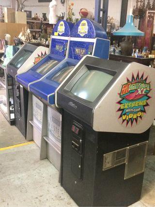 Maquinas de videojuegos