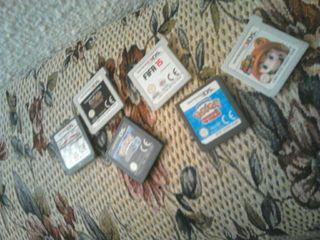 vendo juegos de la Nintendo 3ds