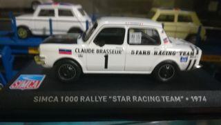 simca 1000 rally star racing team 1974