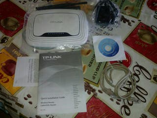 modem router tplink completo sin uso