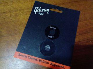 Gibson tapa de potenciómetro