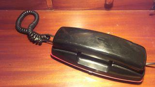 telefono analogico negro
