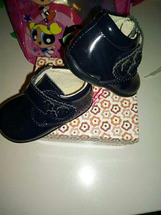 zapato/bota piel talla 19