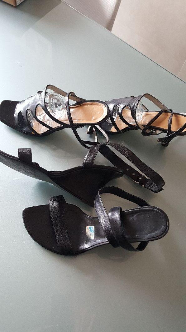 Zapatos sandalias negros
