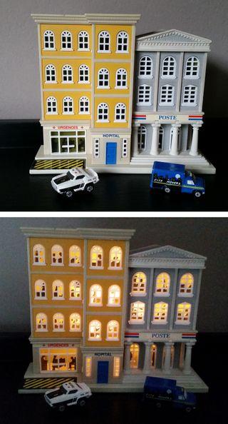 Micro Machines City Scenes Playset Hospital Correo