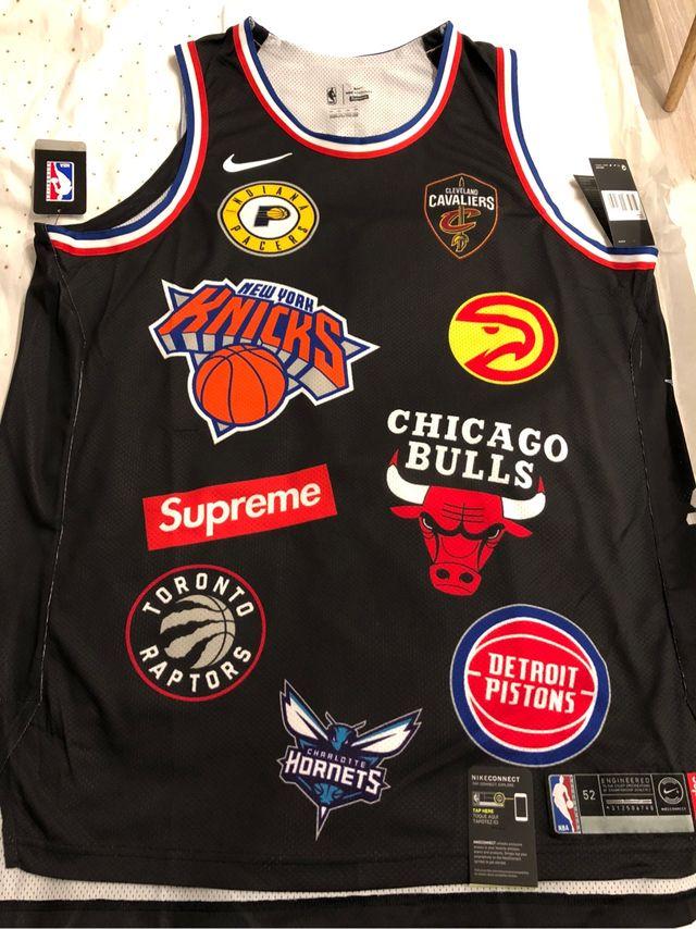 Supreme x Nike x NBA Authentic Jersey XL de segunda mano por 299 ... 8bc87fb638379