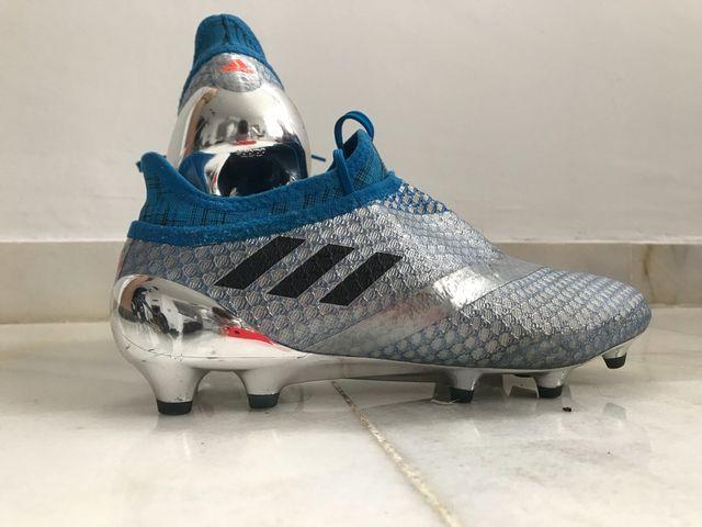 e3caa68e95a45 Botas de futbol con tobillera Adidas Purgeality de segunda mano por ...