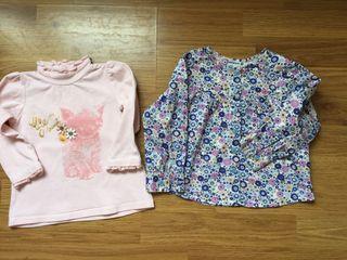 Lote Blusa y camiseta 18 meses