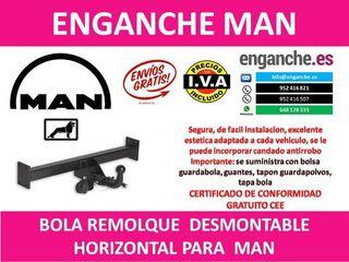 ENGANCHE MAN BOLA REMOLQUE