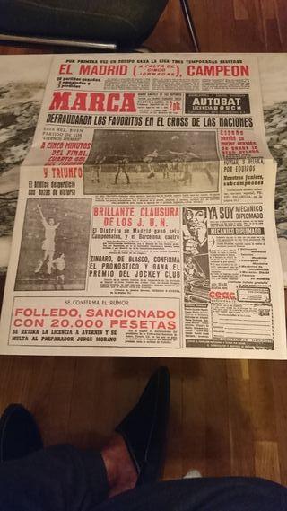 PERIODICO MARCA 1963