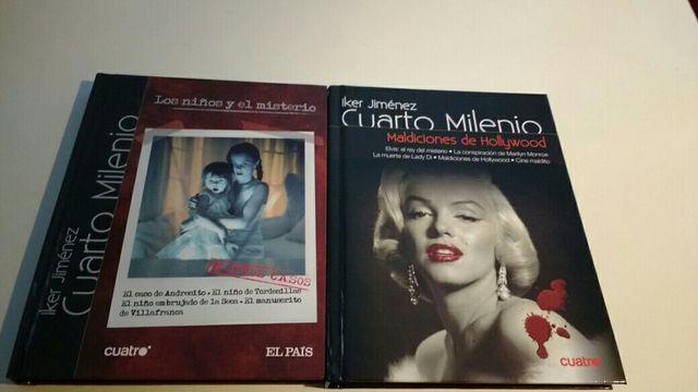 2 Libros + DVD Cuarto Milenio de segunda mano por 1,5 € en Lugo en ...