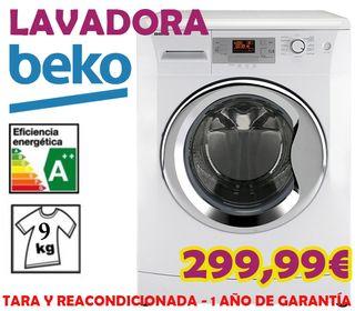 Lavadora Beko 9KG A++