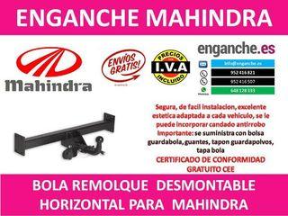 ENGANCHE MAHINDRA BOLA REMOLQUE