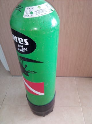 botella buceo 10 litros