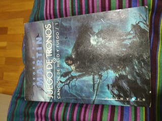 libro juego de tronos canciones de hielo y fuego