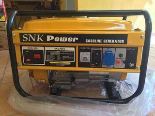 GENERADOR MONOFASICO SNK POWER 4000 w