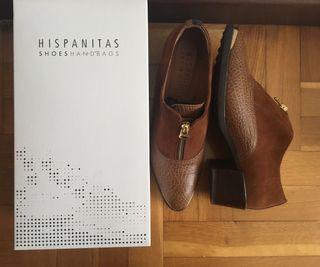 Zapatos piel Hispanitas N39