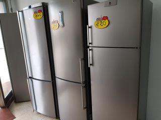Nevera frigorifico inox
