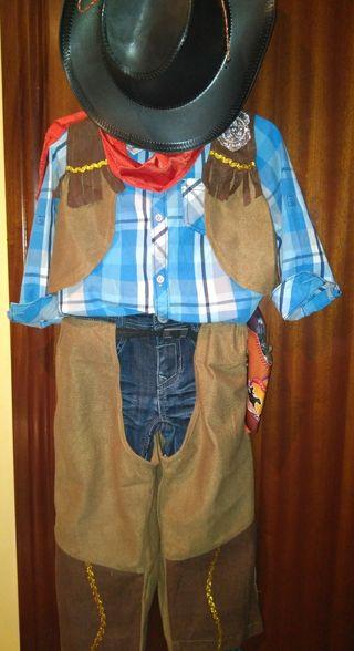 traje de vaquero