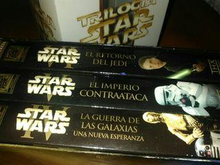 Trilogía Star Wars VHS