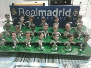 Muñecos equipo REAL MADRID