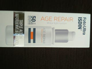 Isdin age repair 50 spf