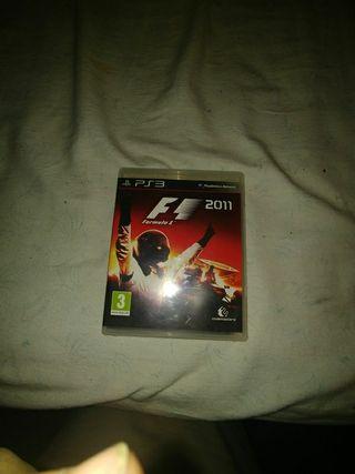 vendo juego ps3. formula 1 2011. Impecable
