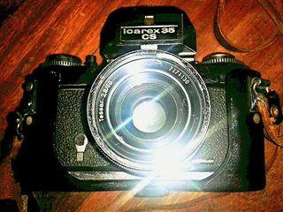 Camara de fotos antigua ICAREX 35 CS