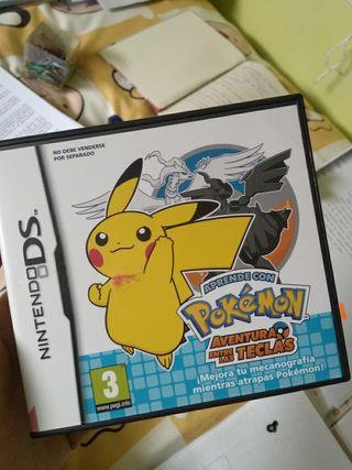 Juego nintendo ds. Pokémon:aventura entre teclas