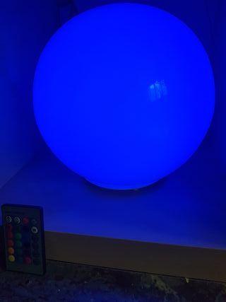 Lámpara multicolor tipo Philips