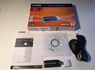 D-Link DWA-140 Adaptador USB Wifi N
