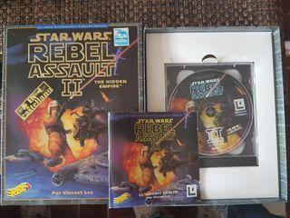 STAR WARS Rebel Assault II PC 1995