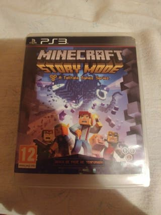 juego ps3 minecraft storie mode