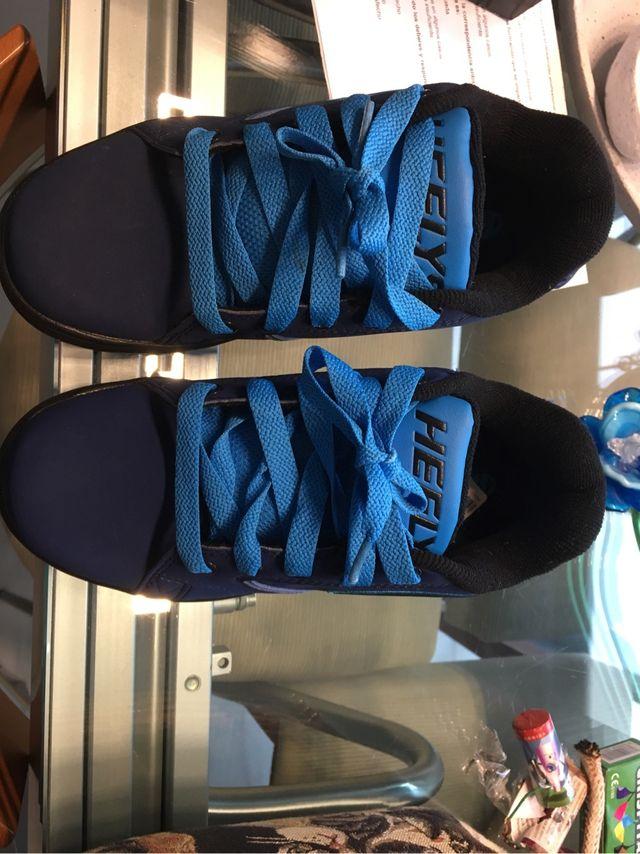 Heelys zapatillas ruedas T. 34
