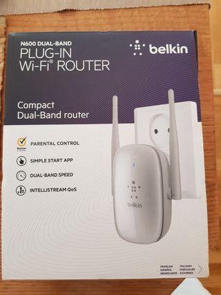 Router compacto de doble banda belkin