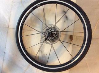 Ruedas bicicleta con neumatico