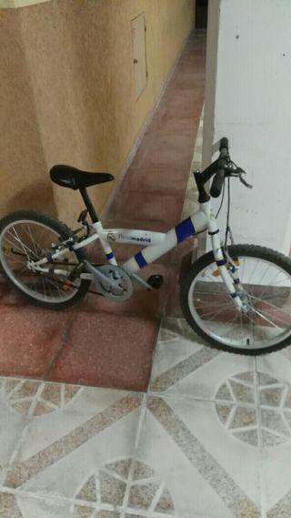 bici real madrid