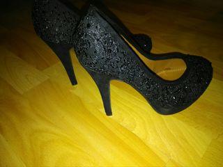zapatos de encaje