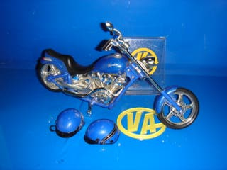 juguete coleccion MOTO CHOPPER AZUL - MUÑECA BRATZ